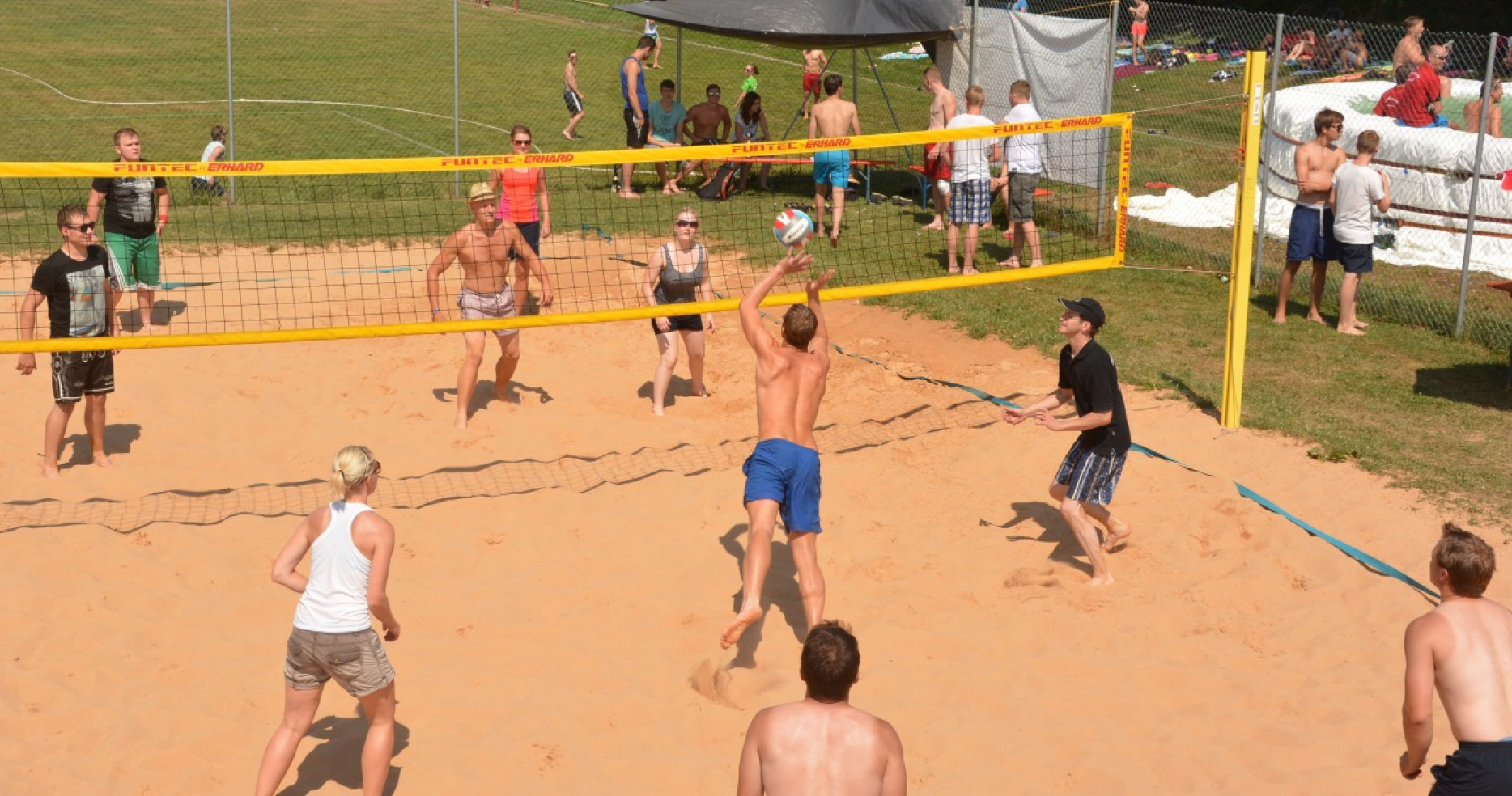3 Beachvolleyballturnier